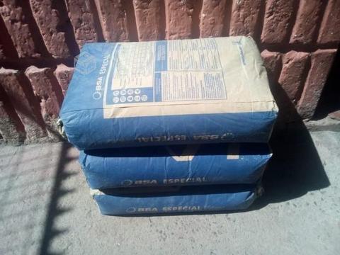 sacos de cemento