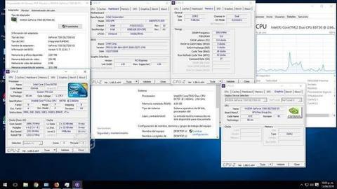 Pc escritorio core 2 duo 4gb t.video win 10x64pro