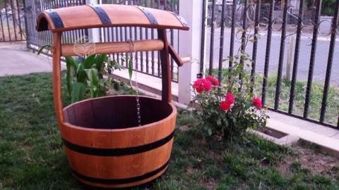 Hermosas norias de barrica ( barril ) de roble