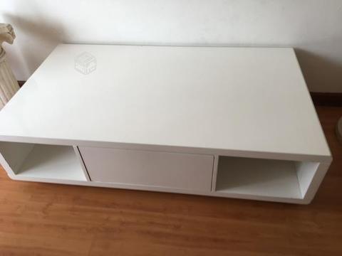 Mesa de centro melamina blanca