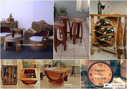 Artesanía, muebles y decoración en Barricas