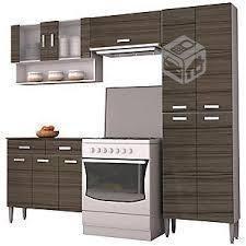 Kit mueble cocina 220x201x36 cm Parana QUARTZ NUEV